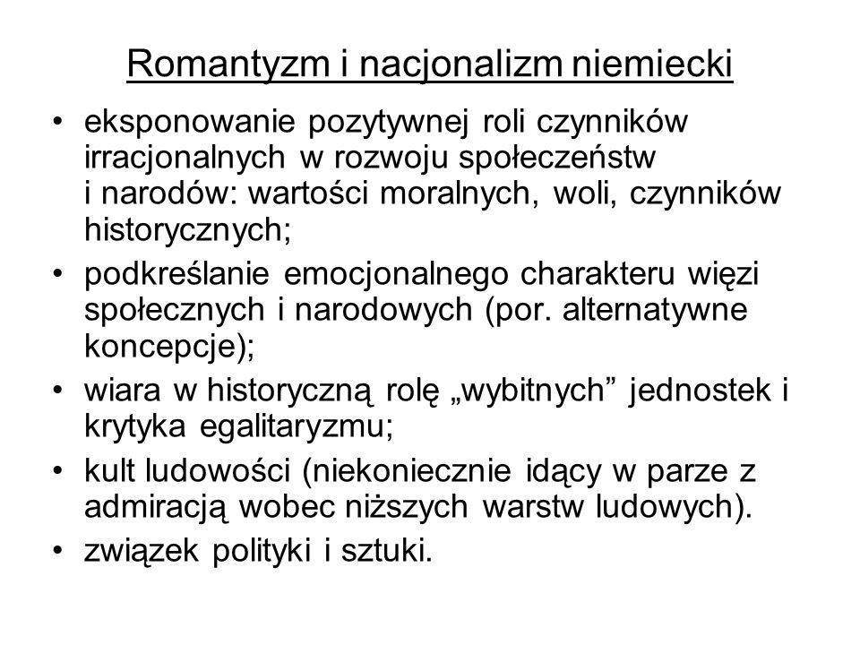 Romantyzm i nacjonalizm niemiecki