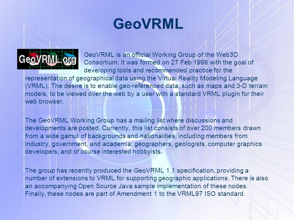 GeoVRML