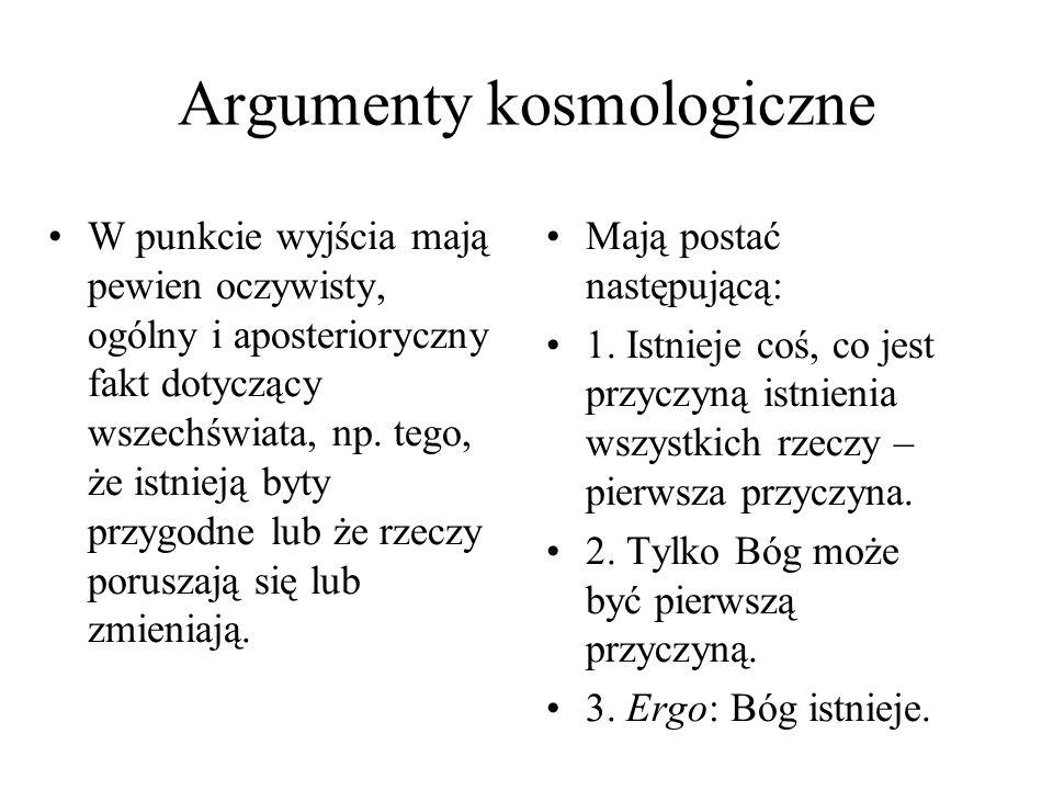 Argumenty kosmologiczne