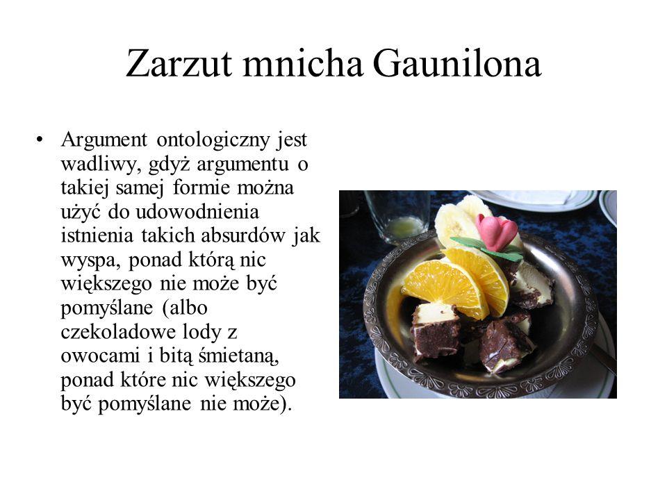 Zarzut mnicha Gaunilona