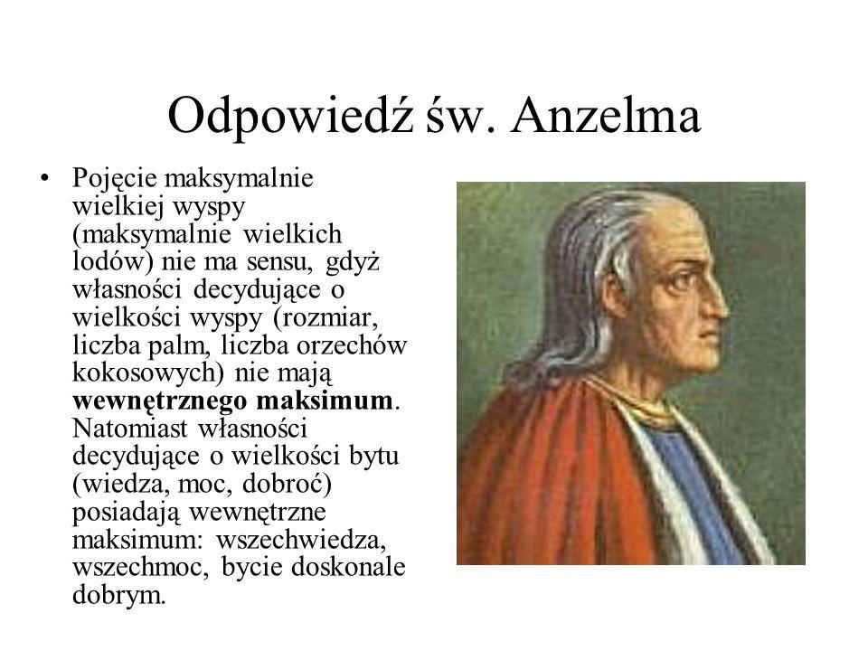 Odpowiedź św. Anzelma