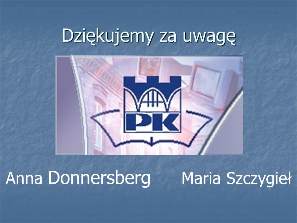 Anna Donnersberg Maria Szczygieł