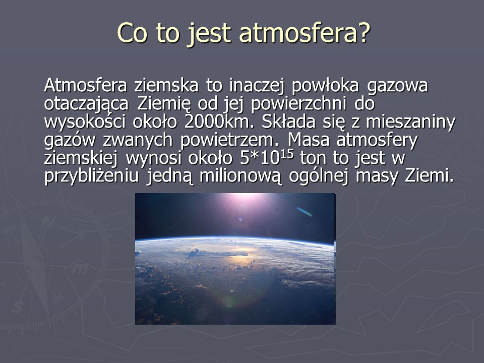Co to jest atmosfera