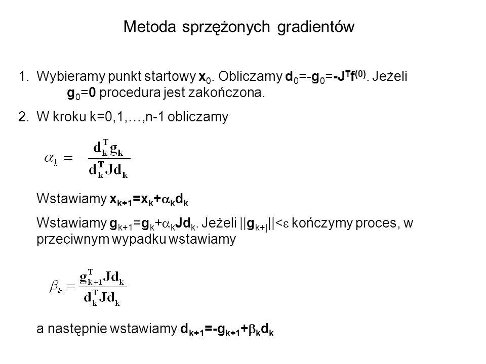 Metoda sprzężonych gradientów