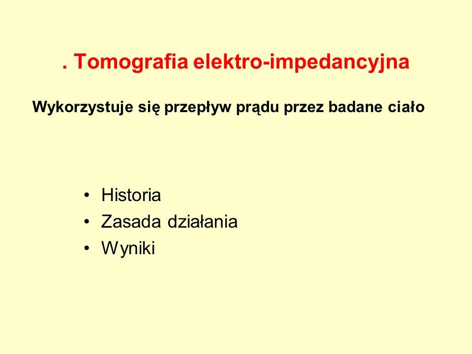 . Tomografia elektro-impedancyjna