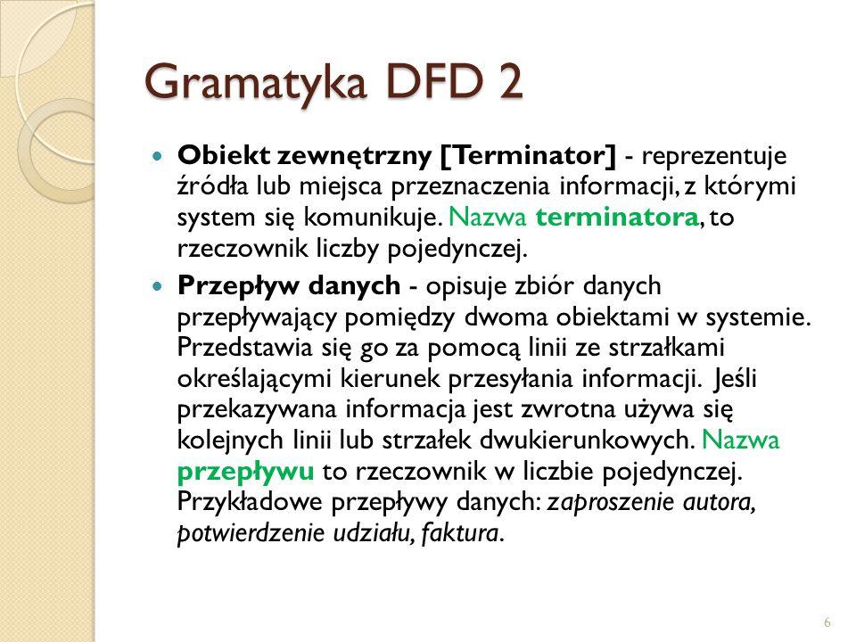 Gramatyka DFD 2
