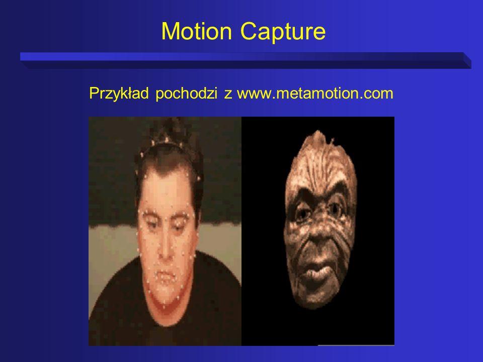 Przykład pochodzi z www.metamotion.com