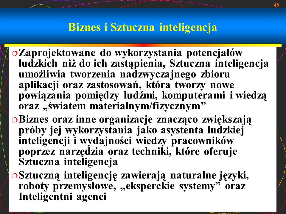 Biznes i Sztuczna inteligencja
