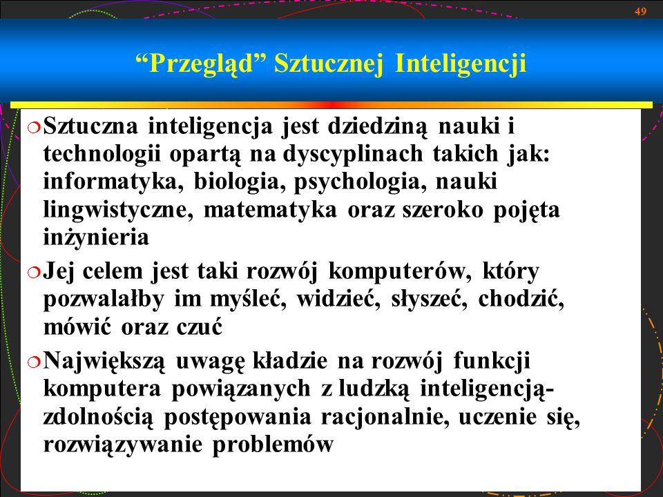 Przegląd Sztucznej Inteligencji