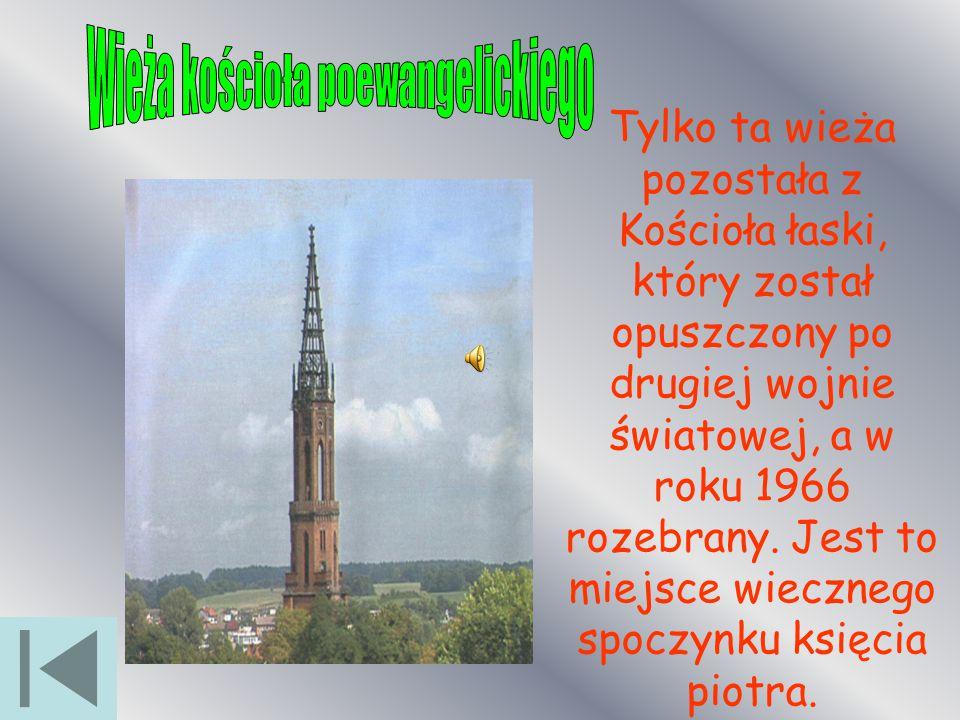 Wieża kościoła poewangelickiego