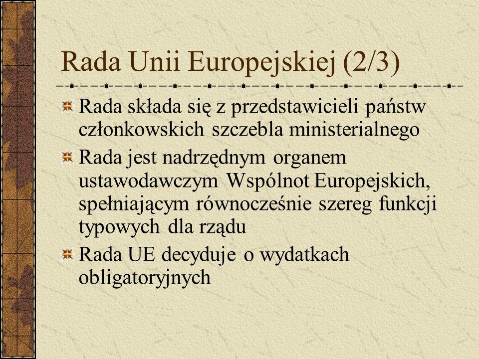 Rada Unii Europejskiej (2/3)