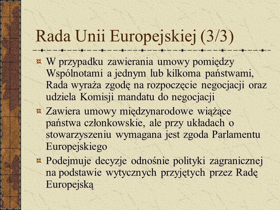 Rada Unii Europejskiej (3/3)