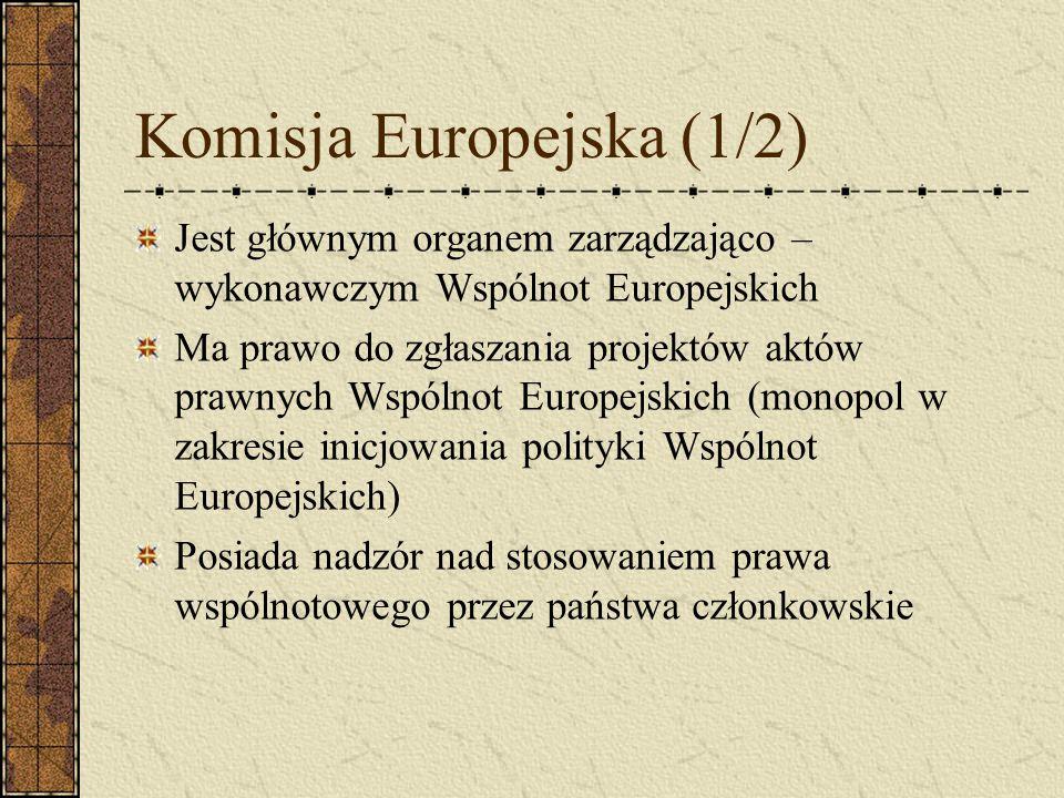 Komisja Europejska (1/2)