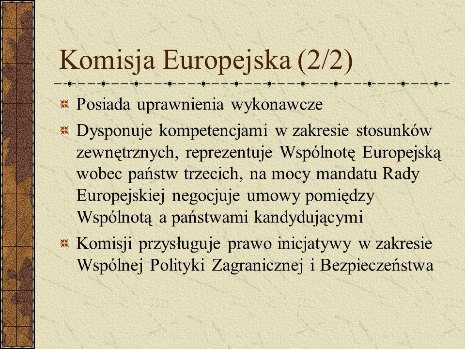 Komisja Europejska (2/2)