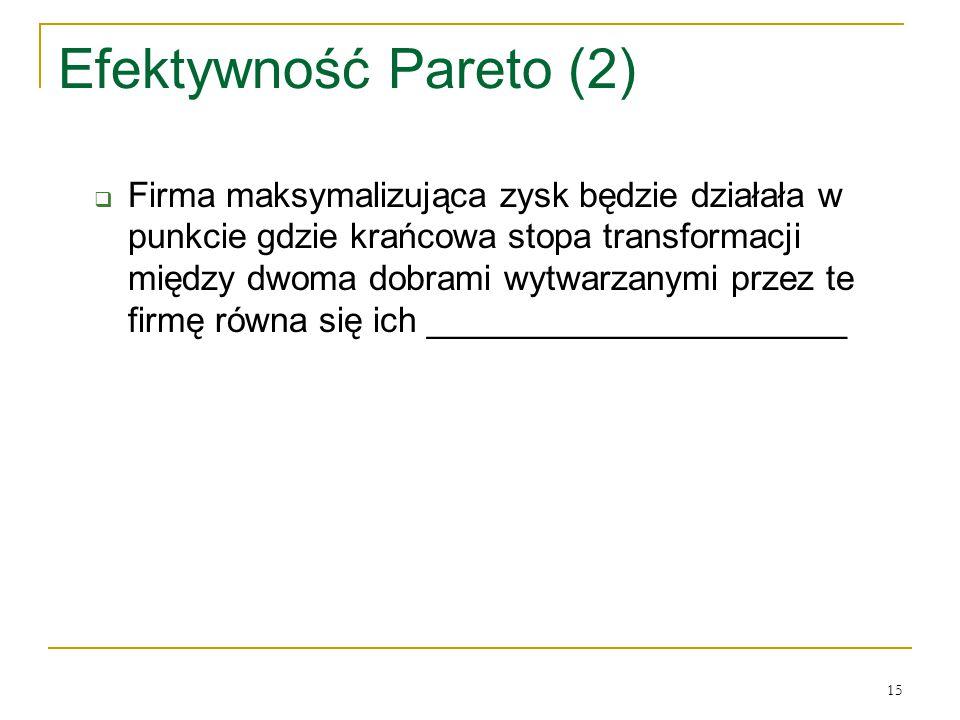 Efektywność Pareto (2)