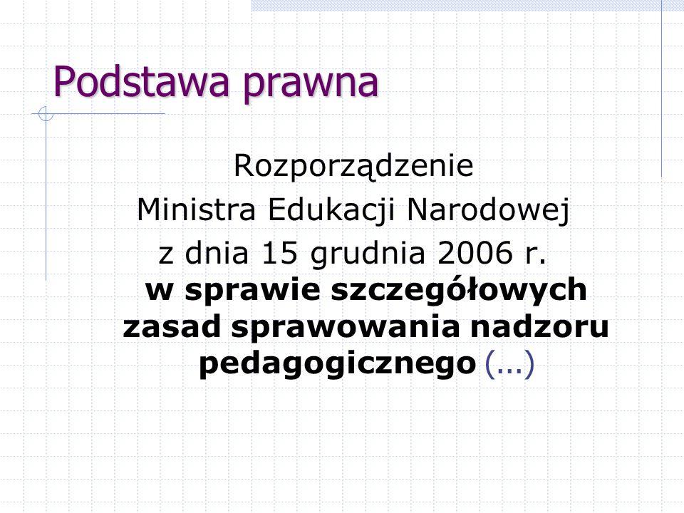 Ministra Edukacji Narodowej