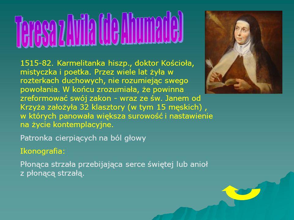 Teresa z Avila (de Ahumade)