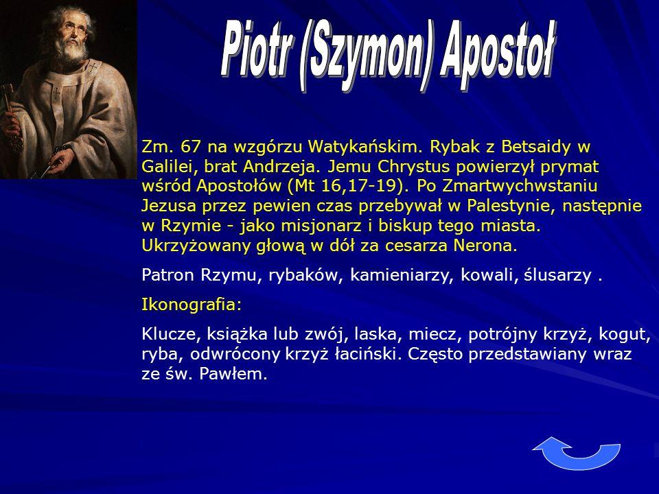 Piotr (Szymon) Apostoł