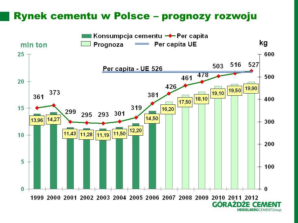 Rynek cementu w Polsce – prognozy rozwoju