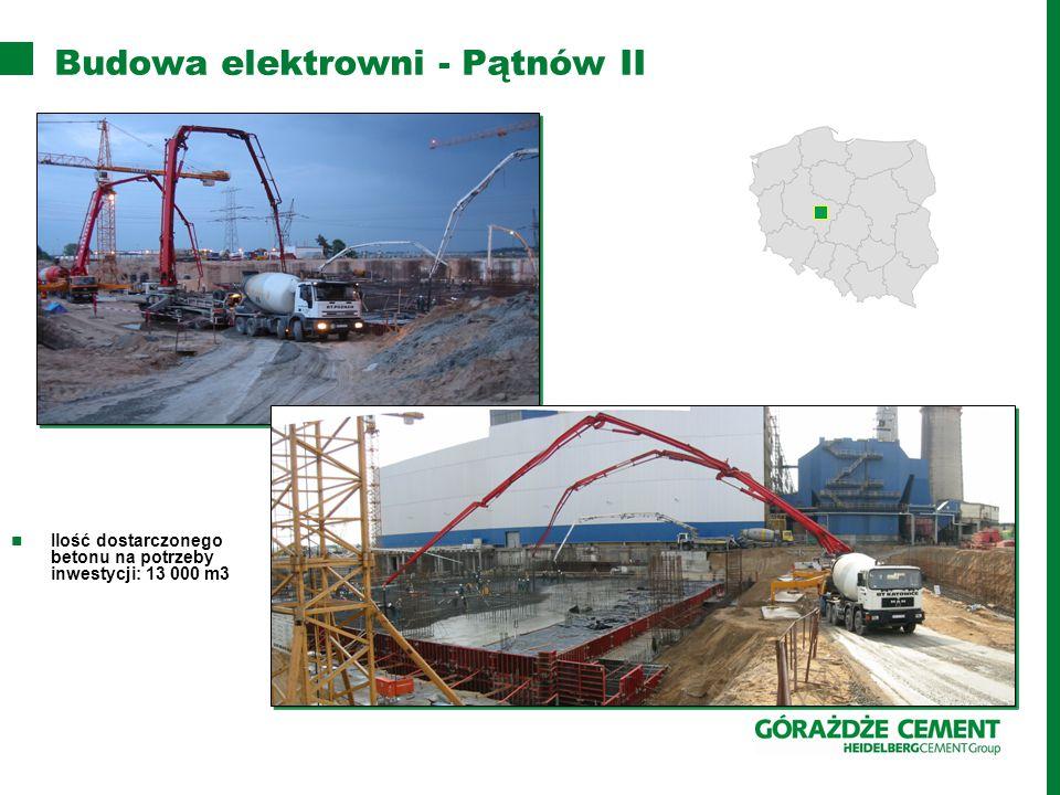 Budowa elektrowni - Pątnów II