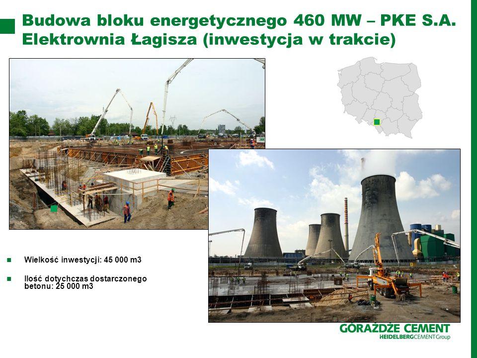 Budowa bloku energetycznego 460 MW – PKE S. A