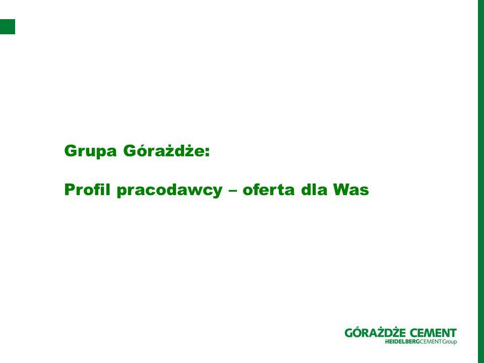 Grupa Górażdże: Profil pracodawcy – oferta dla Was