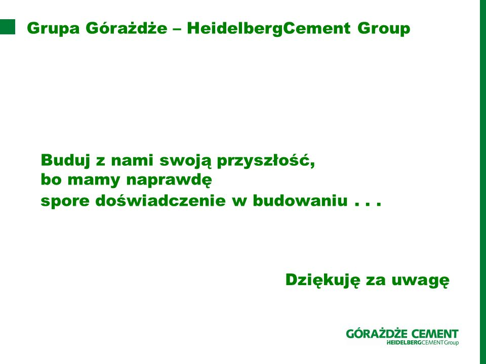 Grupa Górażdże – HeidelbergCement Group