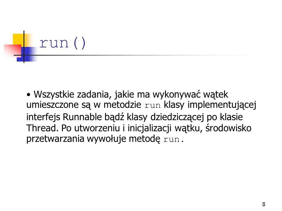 run()