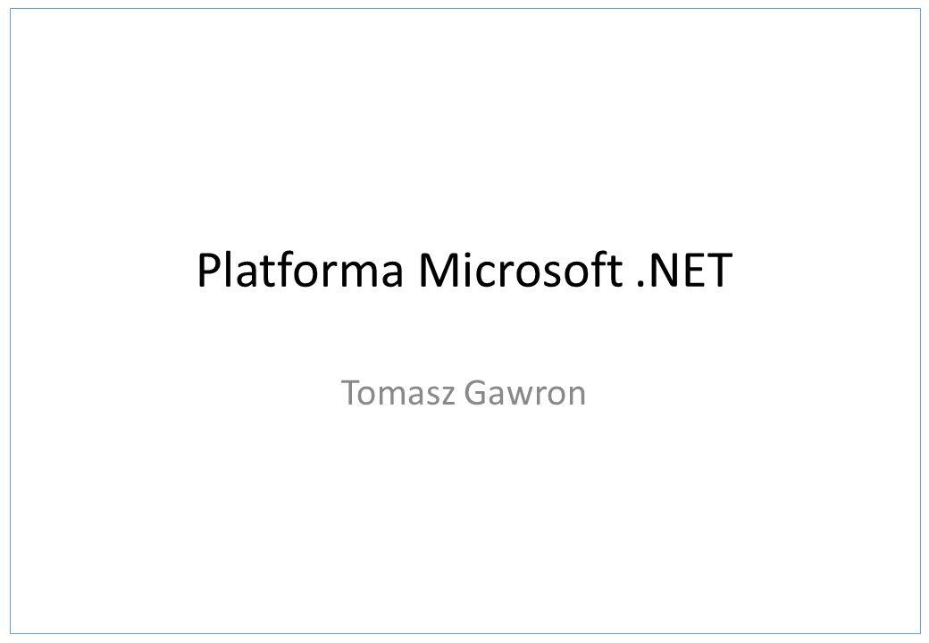 Platforma Microsoft .NET
