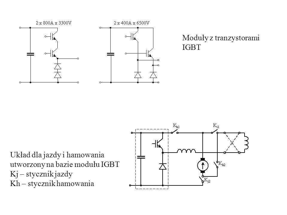 Moduły z tranzystorami IGBT