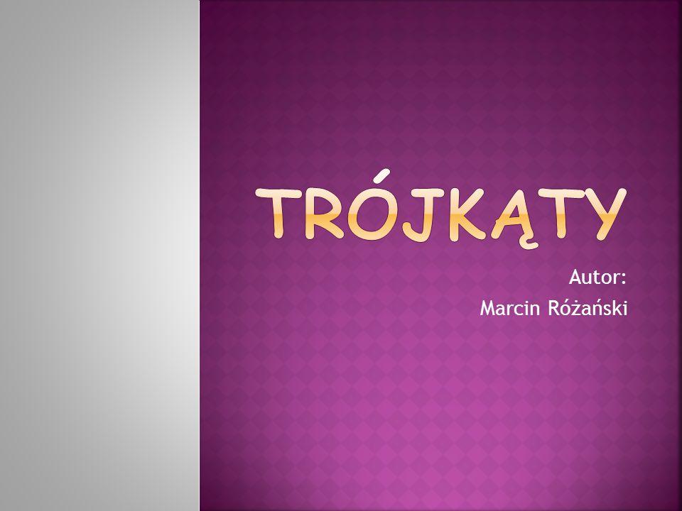 Autor: Marcin Różański