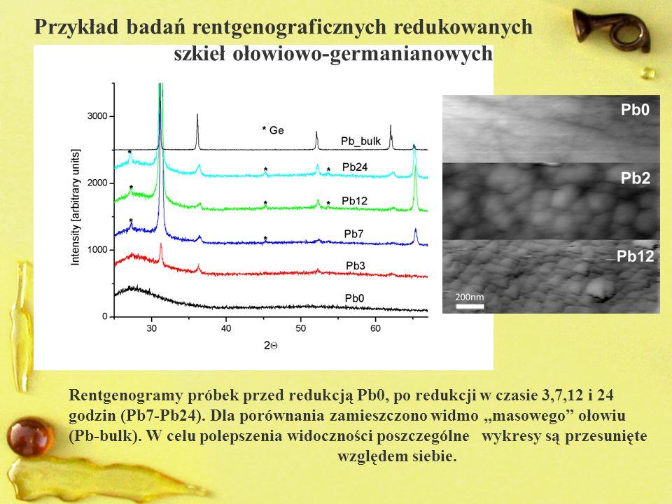Przykład badań rentgenograficznych redukowanych