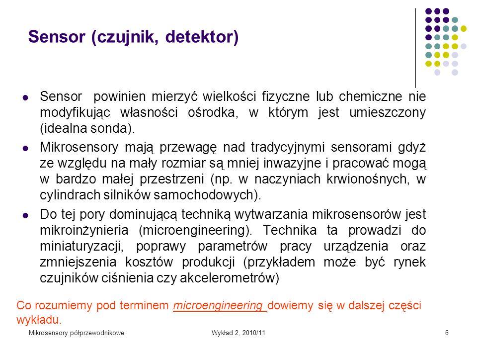 Sensor (czujnik, detektor)