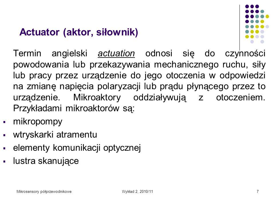 Actuator (aktor, siłownik)