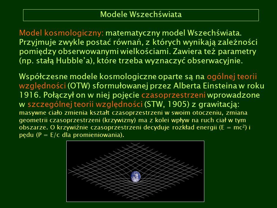 Modele Wszechświata