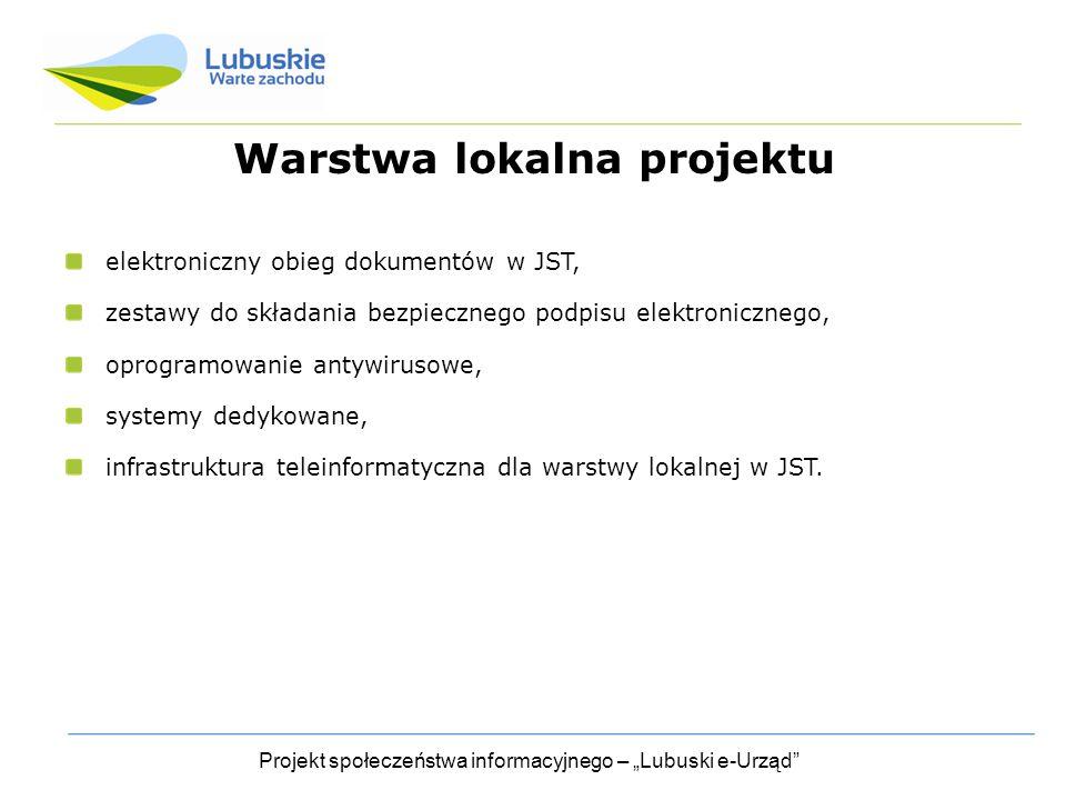 Warstwa lokalna projektu