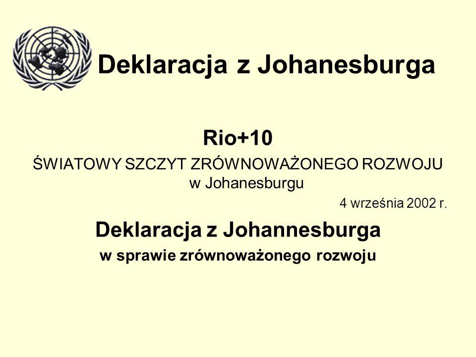 Deklaracja z Johanesburga