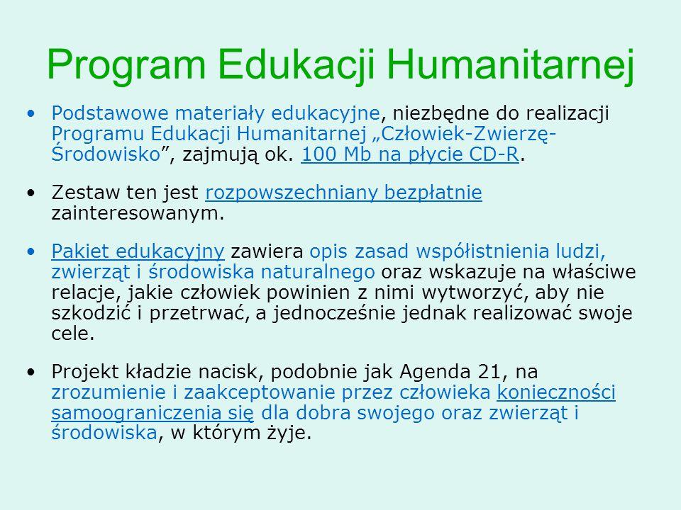 Program Edukacji Humanitarnej