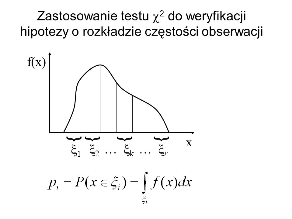 Zastosowanie testu c2 do weryfikacji hipotezy o rozkładzie częstości obserwacji