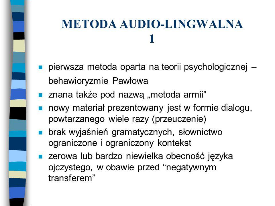 METODA AUDIO-LINGWALNA 1
