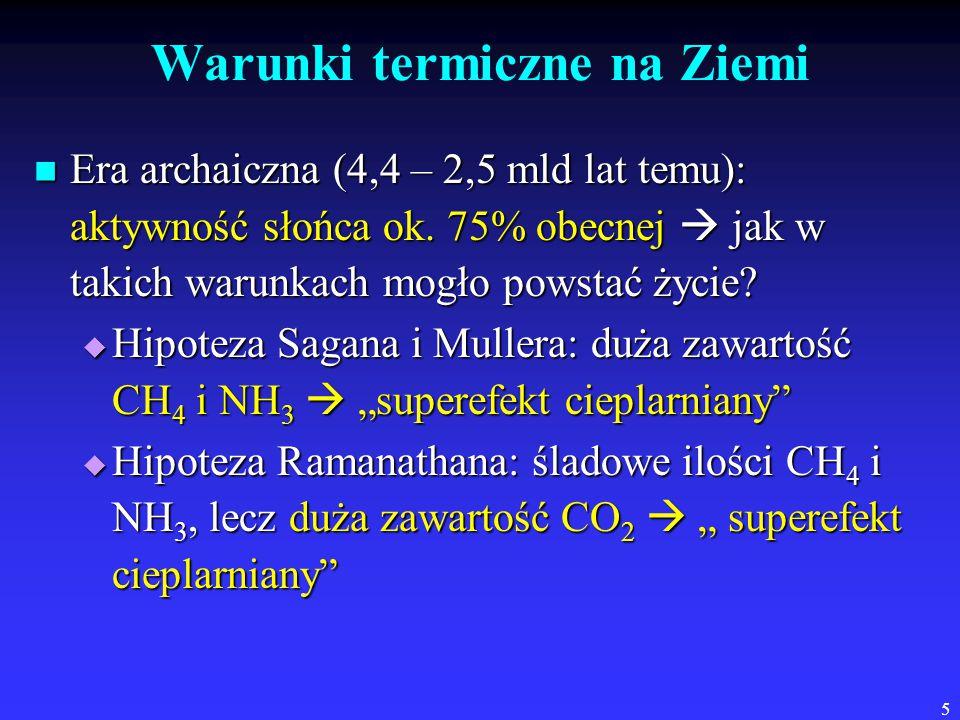 Warunki termiczne na Ziemi