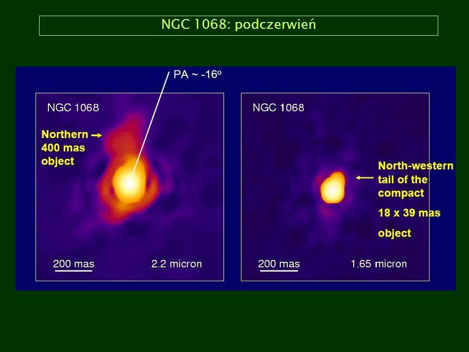 NGC 1068: podczerwień