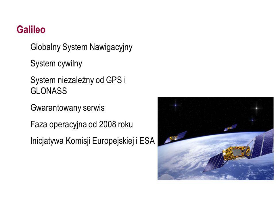 GALILEO Galileo Globalny System Nawigacyjny System cywilny