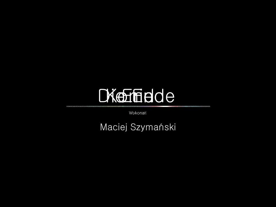 Koniec Die Ende End Wykonał: Maciej Szymański