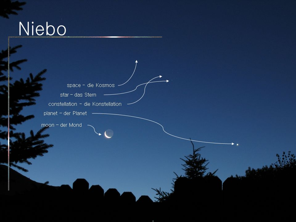 Niebo space - die Kosmos star – das Stern