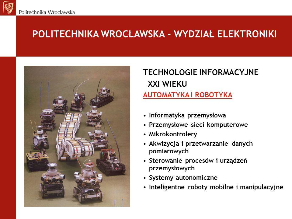 POLITECHNIKA WROCŁAWSKA - WYDZIAŁ ELEKTRONIKI