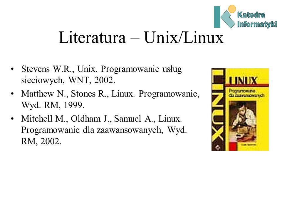 Literatura – Unix/Linux