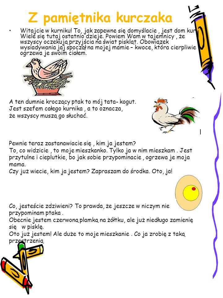 Z pamiętnika kurczaka