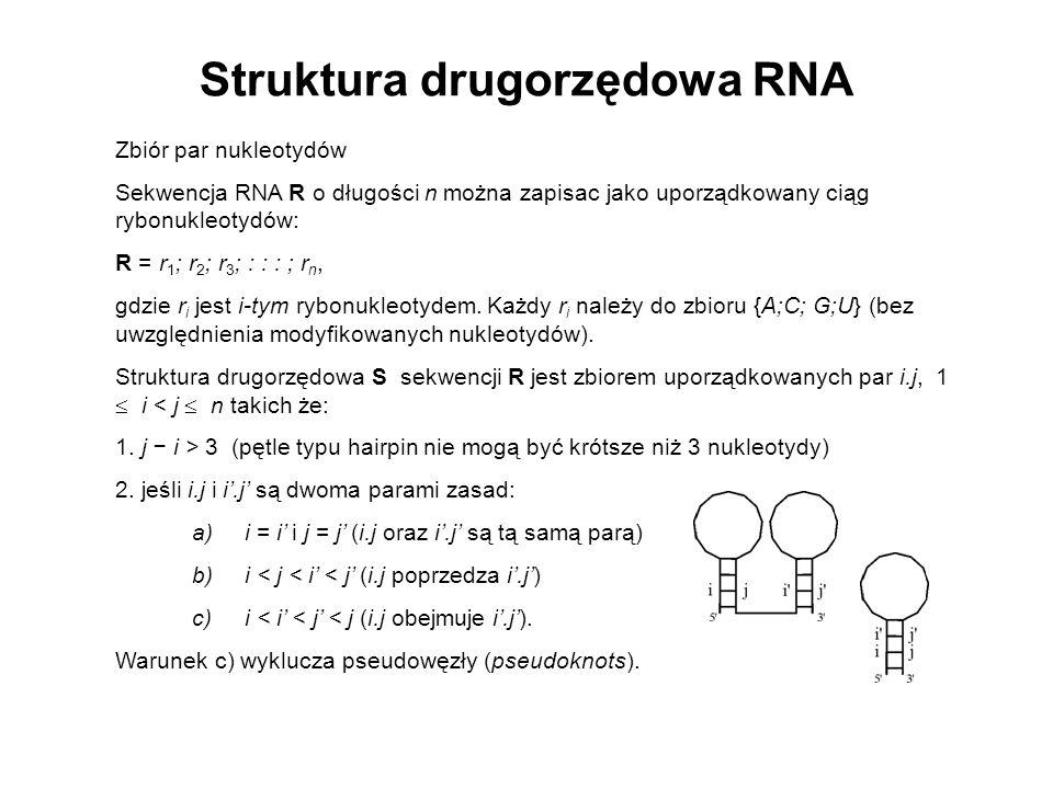 Struktura drugorzędowa RNA