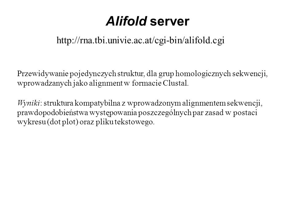 Alifold server http://rna.tbi.univie.ac.at/cgi-bin/alifold.cgi